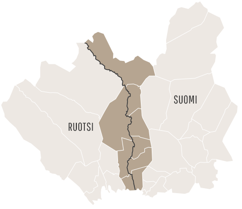 9 kunnan alueella